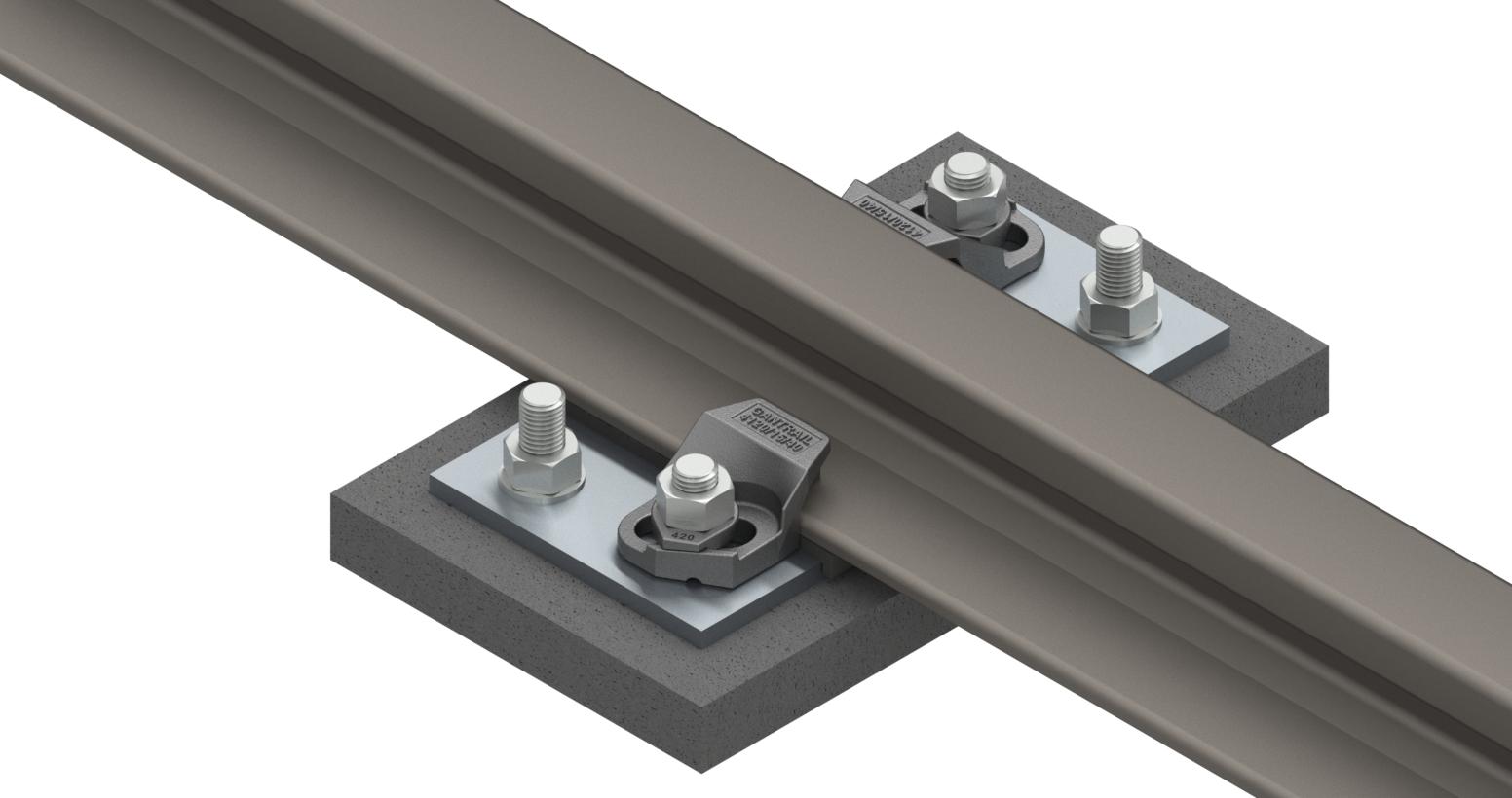 Gantrail Series 1 Rail Clip