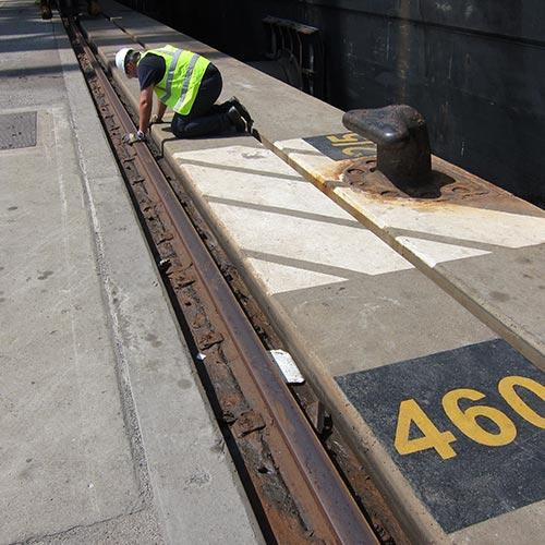Crane Rail Refurbishment