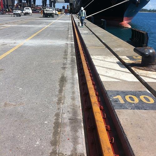 Fully refurbished crane rail