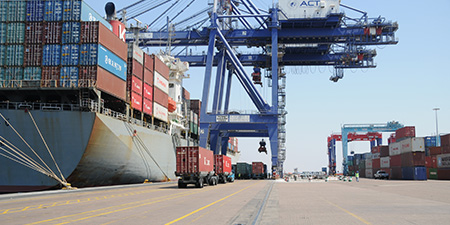 Crane Rail systems for Rail systems for Bulk Handling Ports