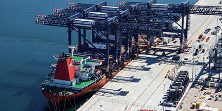 Crane Rail systems for Rail systems for Ports & Harbours