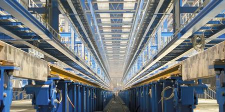 Automated Warehouse Rails