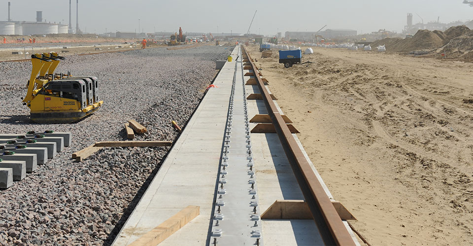 Continuous Rail Soleplates