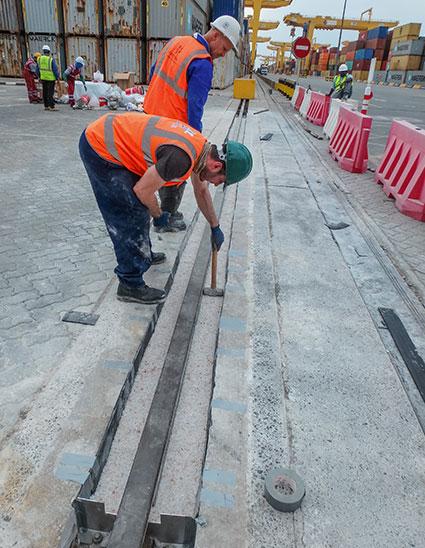 Rail Infill Process