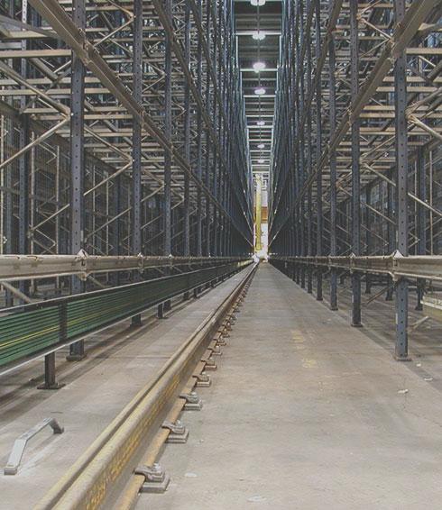 Crane Rails for the Logistics Sector