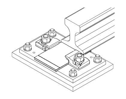 Individual Soleplates for Crane Rails
