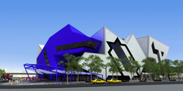 Perth Arena Moving Roof