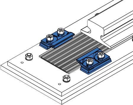 welded-rail-fixing-clips - Gantry Rail
